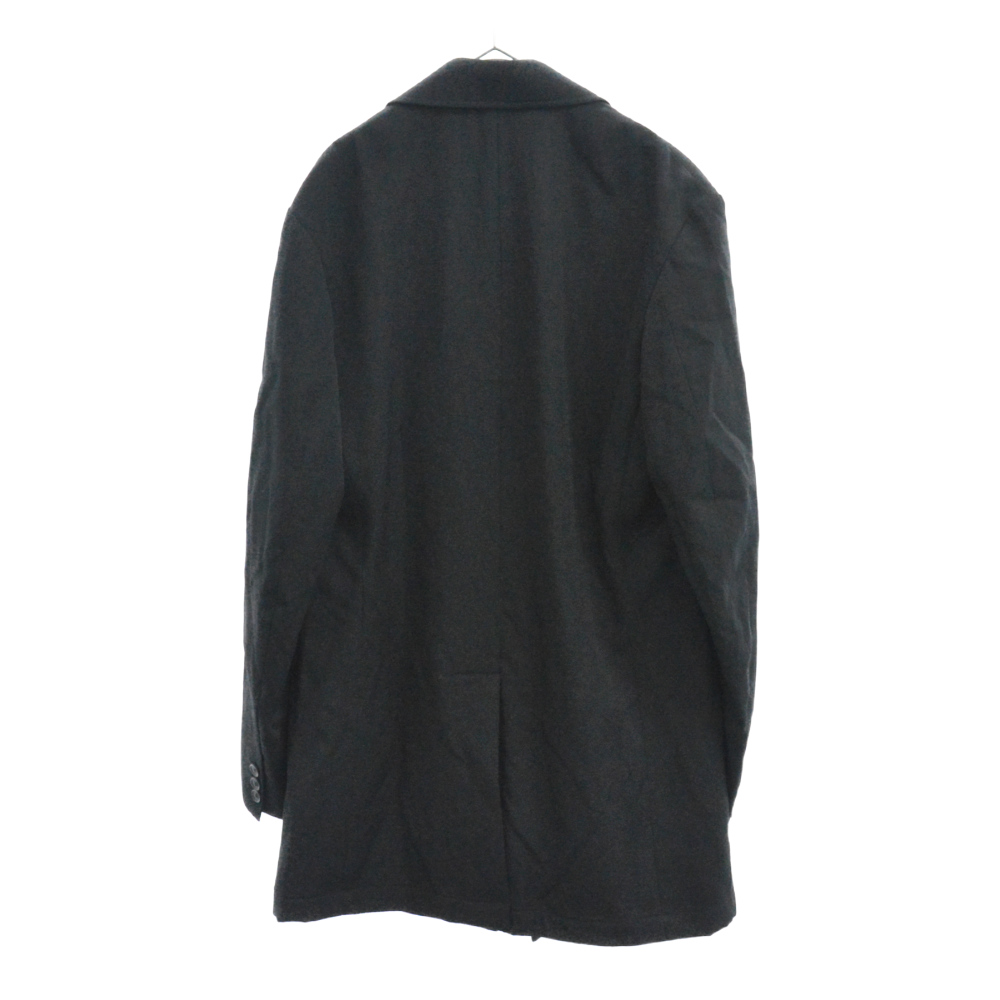 LOOK 9 HH-J31-100 花火フラワージップロング丈 ウールギャバ ジャケット コート