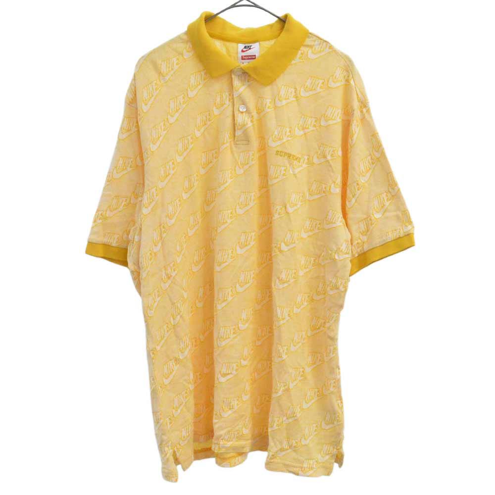 ×NIKE Jacquard Polo ジャガードロゴ半袖ポロシャツ