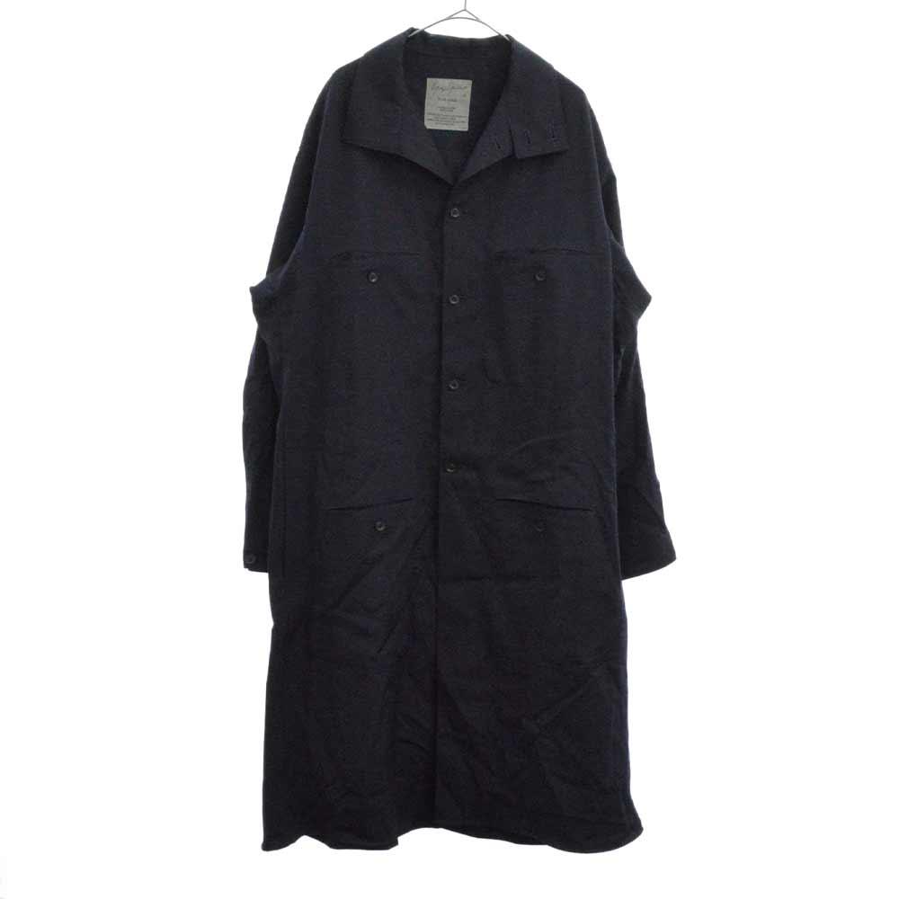 HC-B95-531 ウールギャバシングルカラーコート ジャケット