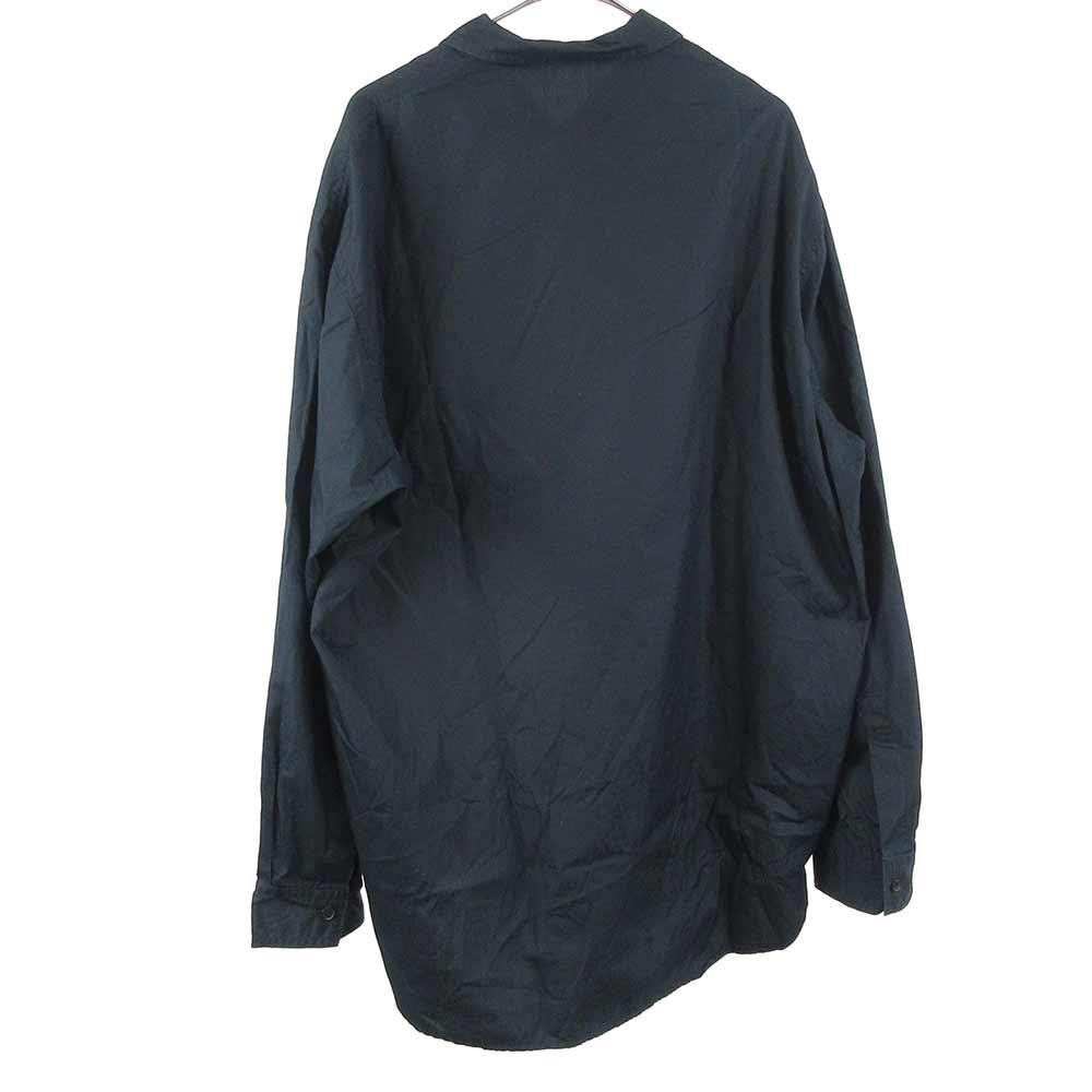 シングルカラーチャイナボタンデザイン長袖カンフーシャツ HD-B03-001