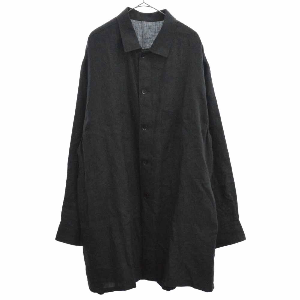 リネンクロス トッパーシャツ HW-B46-325