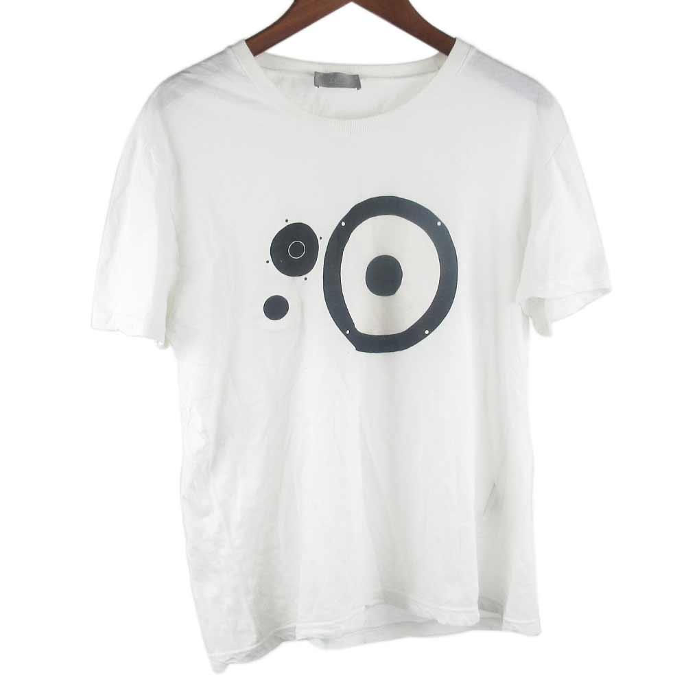 サークルプリント半袖Tシャツ