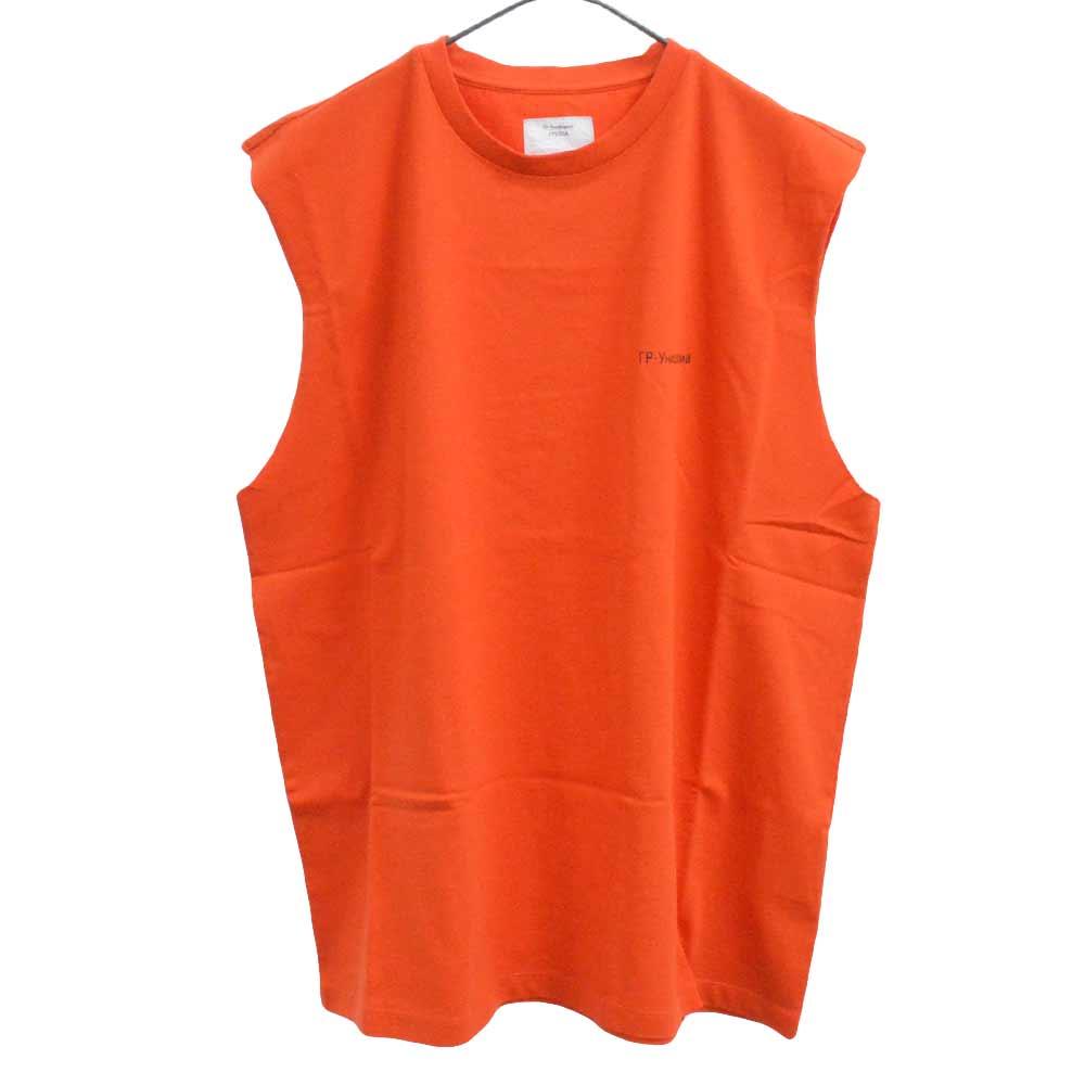 GR-Uniform Unifoma Jersey  ロゴ ノースリーブ カットソー オレンジ