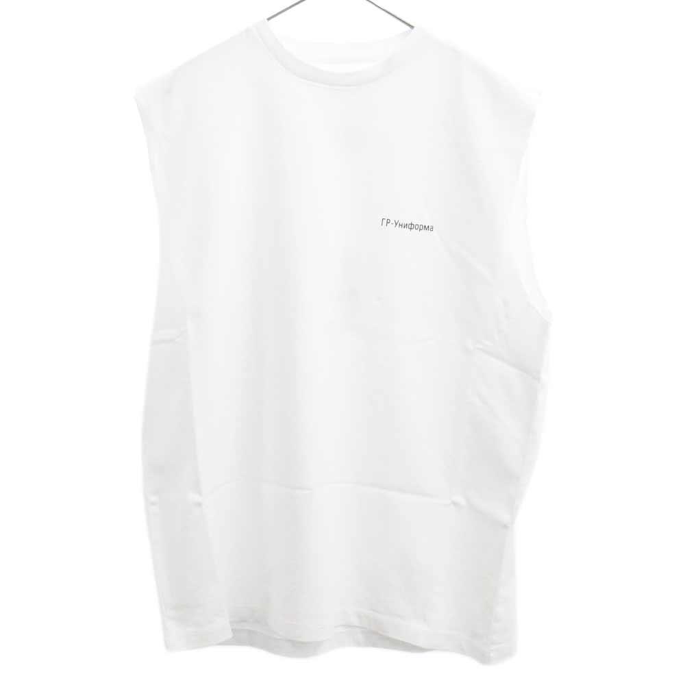 GR-Uniform Unifoma Jersey  ロゴ ノースリーブ カットソー