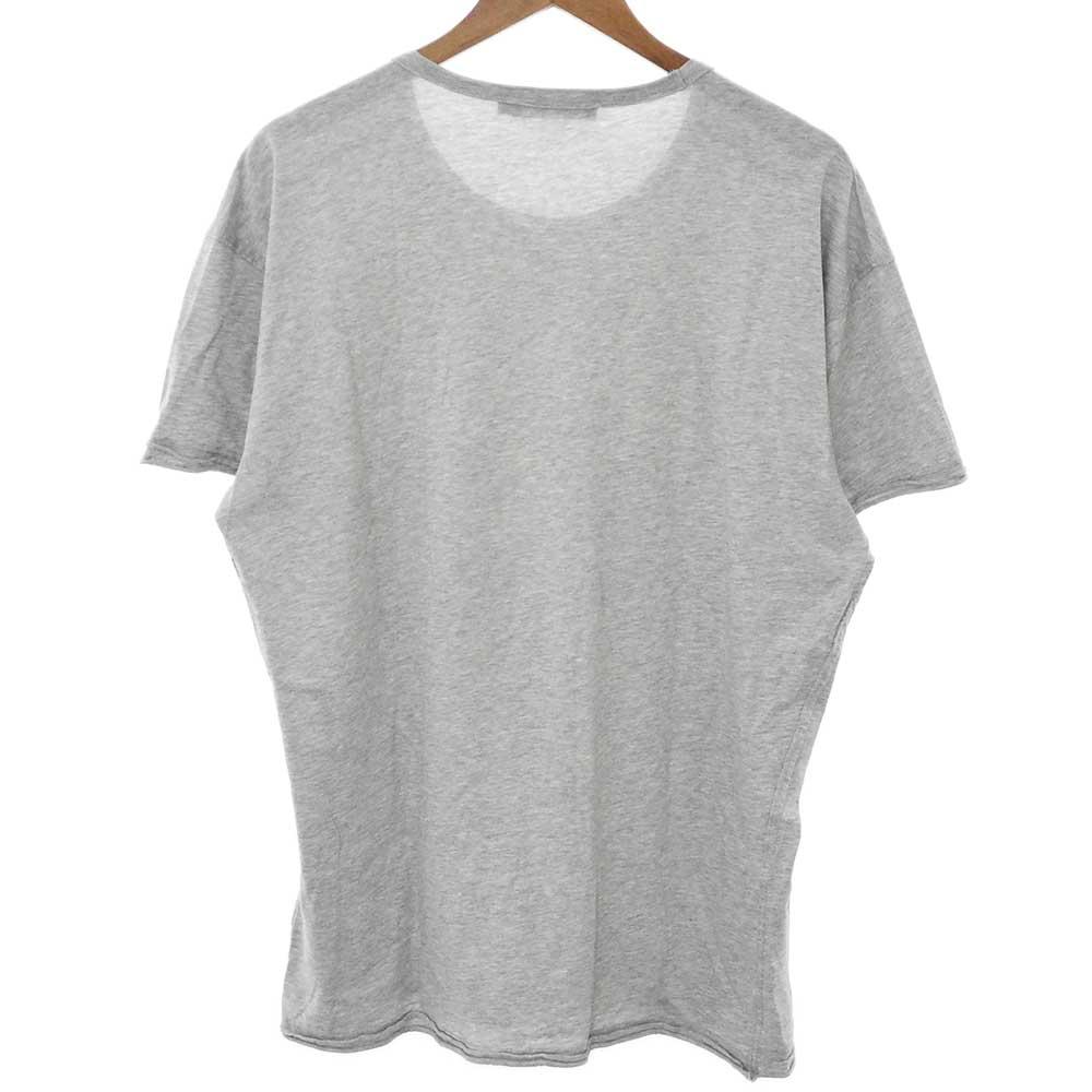 ×Disney ユーズド加工ディズニーフロントプリント半袖Tシャツ