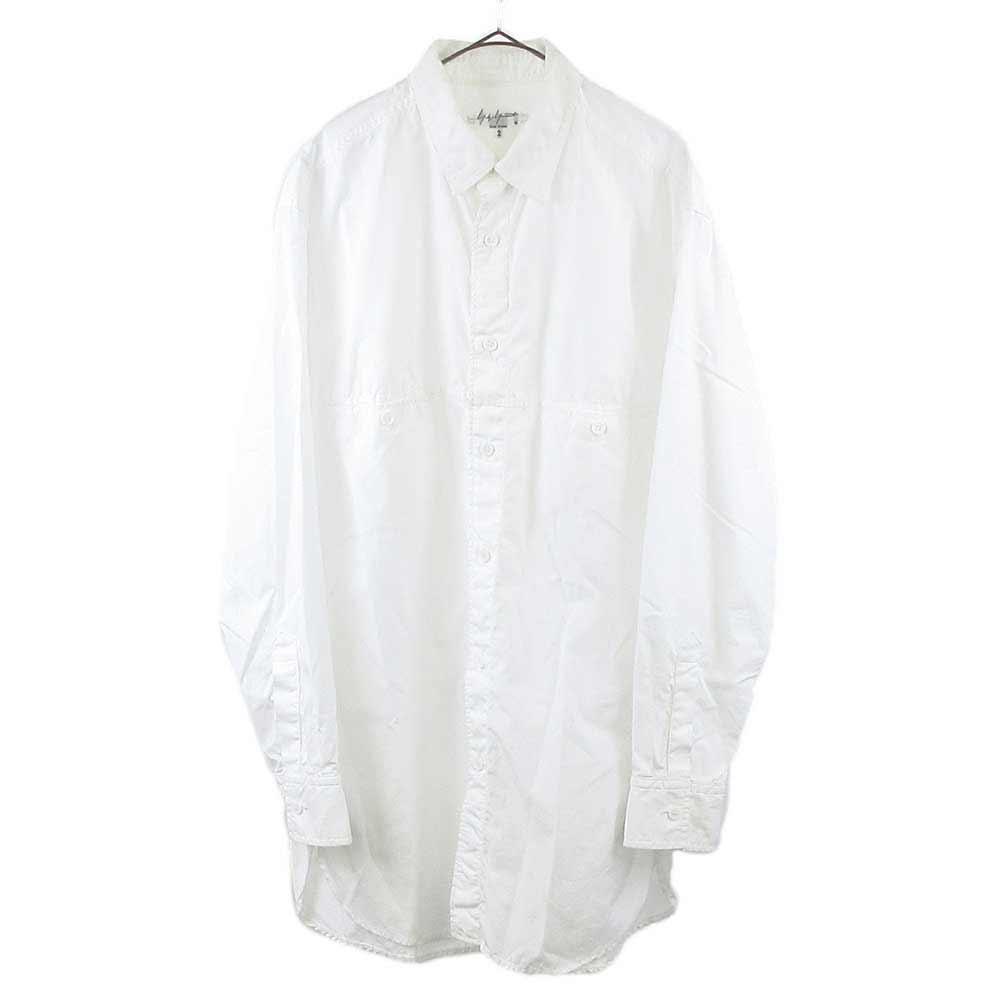 環縫ブロード 定番長袖シャツ HW-B01-001