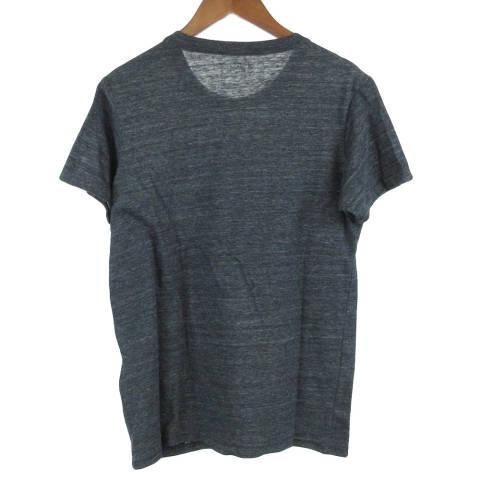 クルーネックフロントUSMCプリントコットン半袖Tシャツ