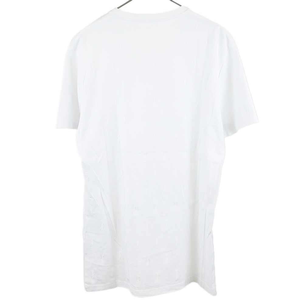 サンダーボルト刺繍半袖Tシャツ
