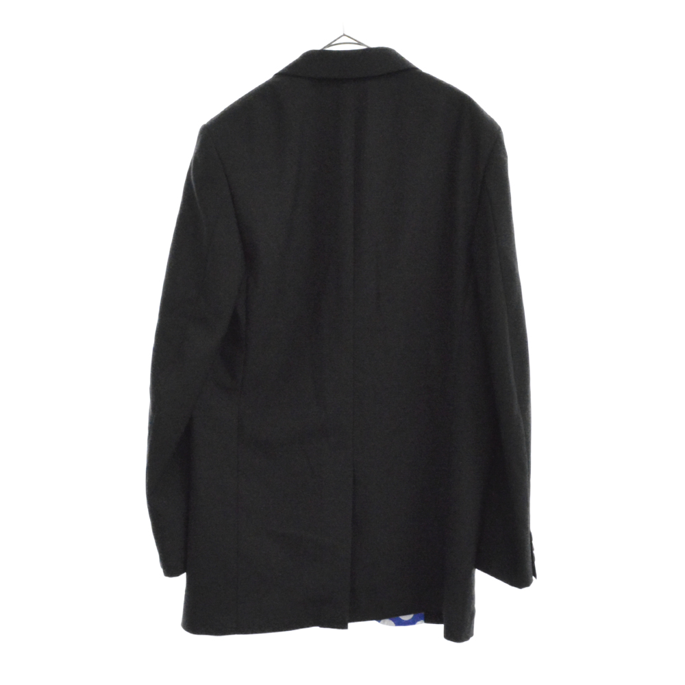 シルクドット切替カシミア混3Bテーラードジャケット ブレザー PC-J045