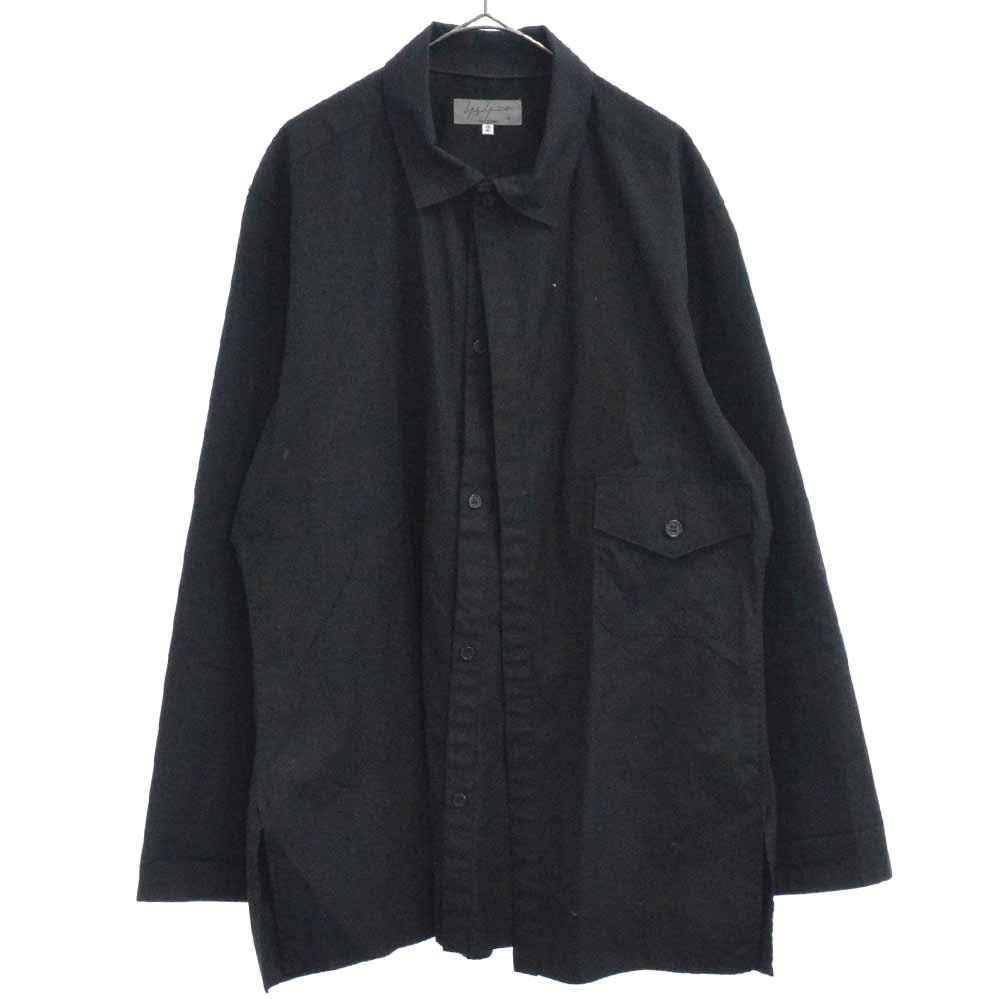 ダブルフロント 長袖シャツ
