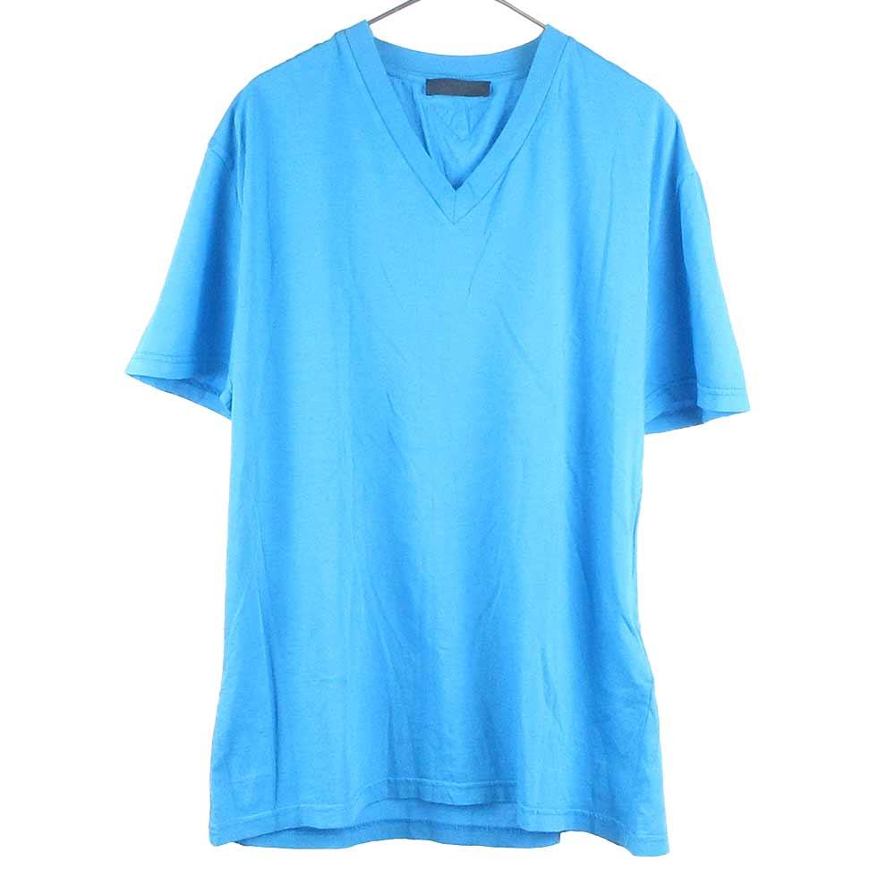 Vネック半袖Tシャツ カットソー