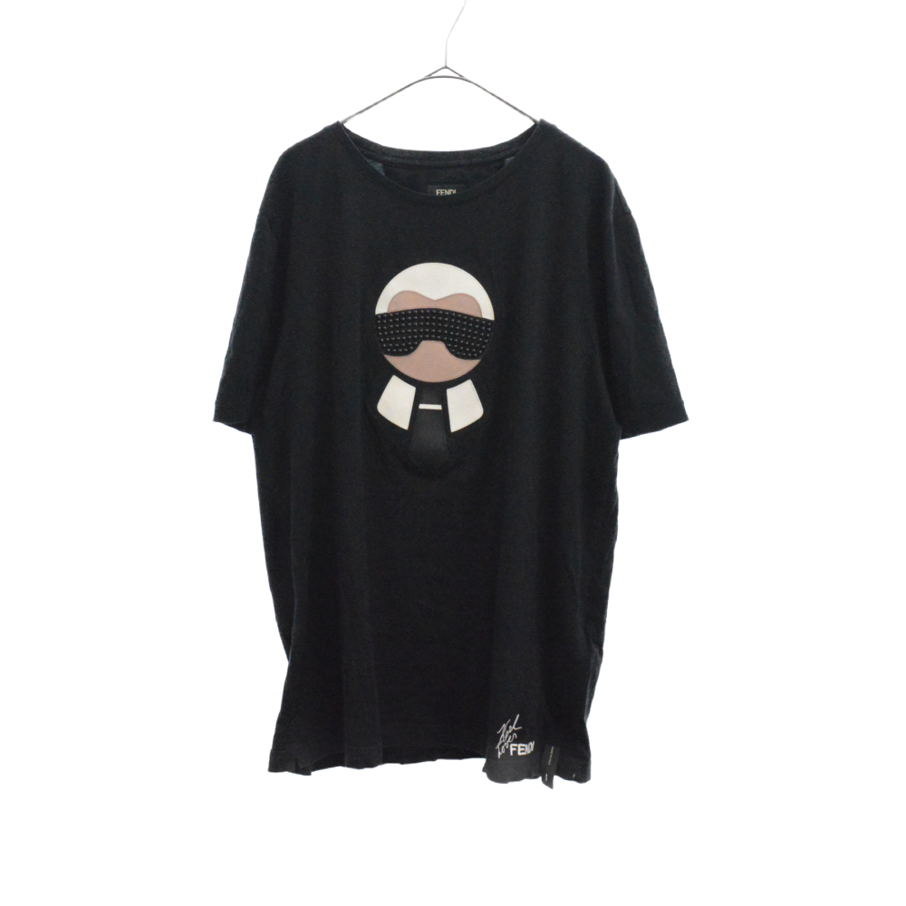 Karl Loves Fendi T-shirt カールラガーフェルドラブ半袖Tシャツ