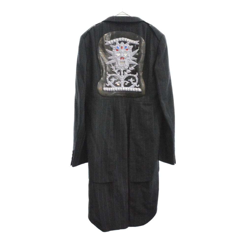 ショーピース仕様ツイードモデル ラバースカルドッキングテーラードジャケット