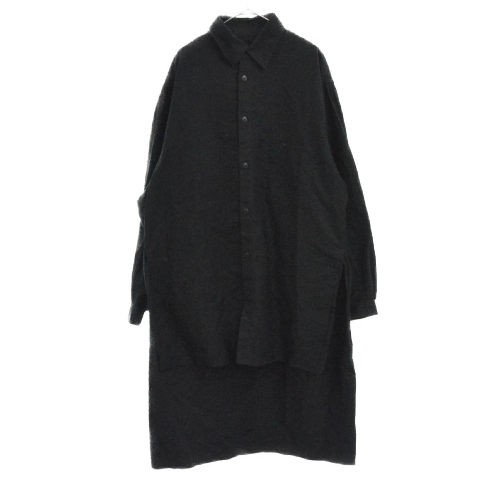 バックプリントパリコレクションスタッフ長袖シャツ HD-B99-999