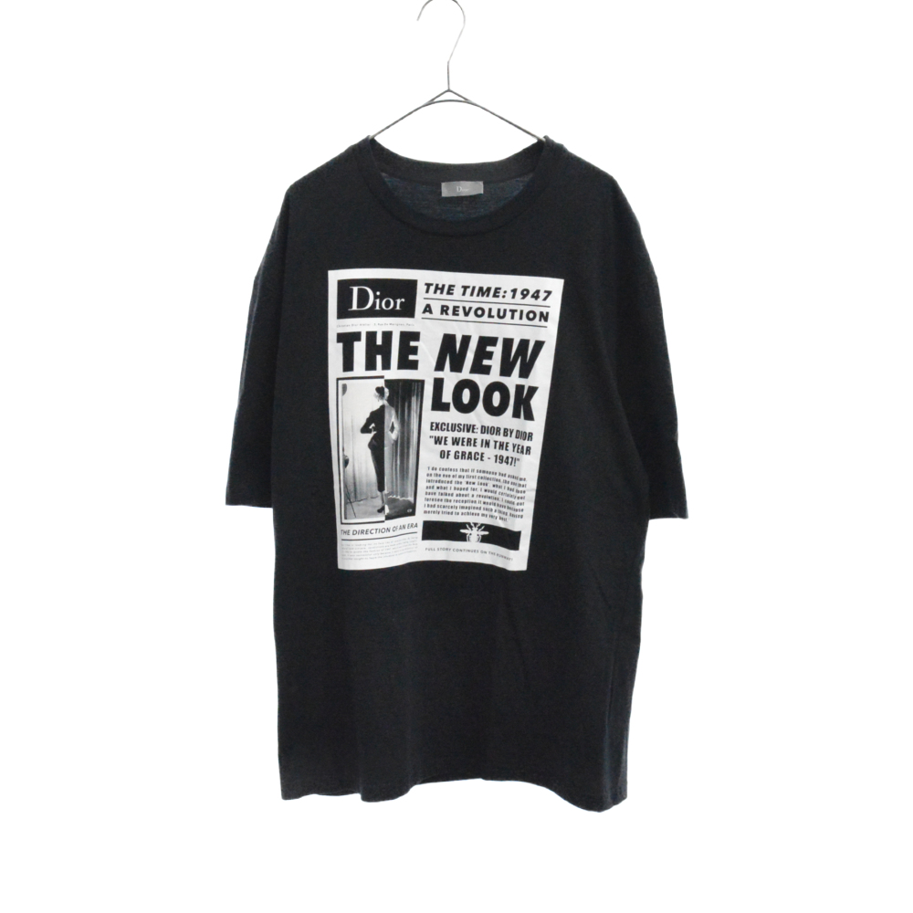 THE NEW LOOK グラフィックプリント半袖Tシャツ カットソー
