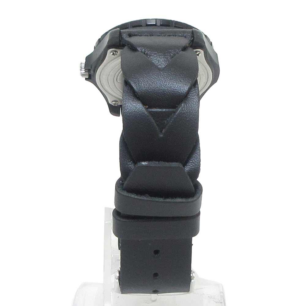 ×TIMEX SAFARI レザーベルトクォーツ腕時計