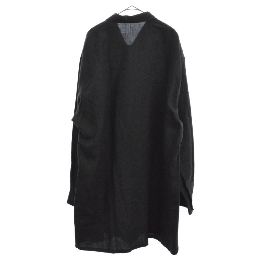 リネンクロストッパーシャツ ジャケット
