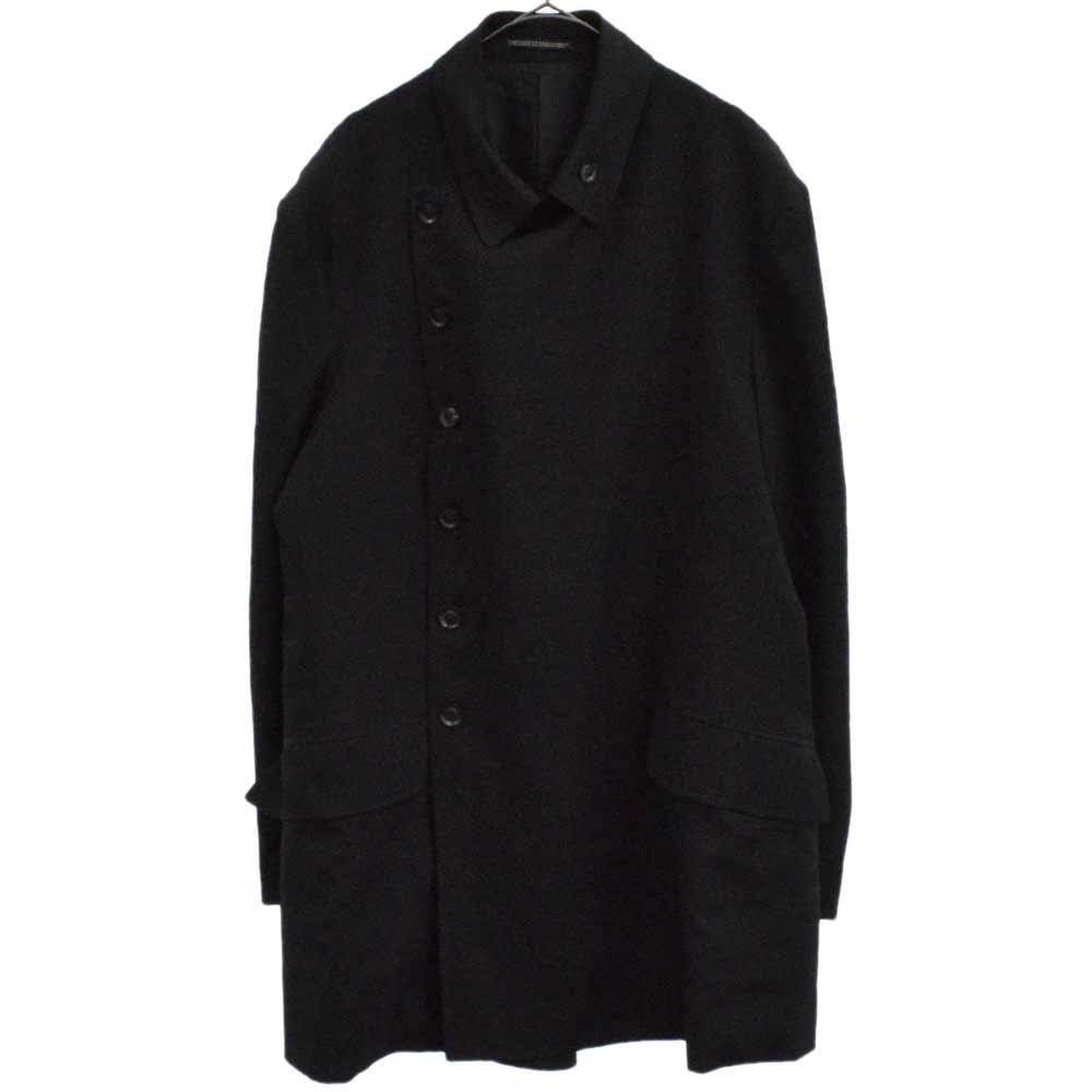 ウールギャバダブルブレストジャケット