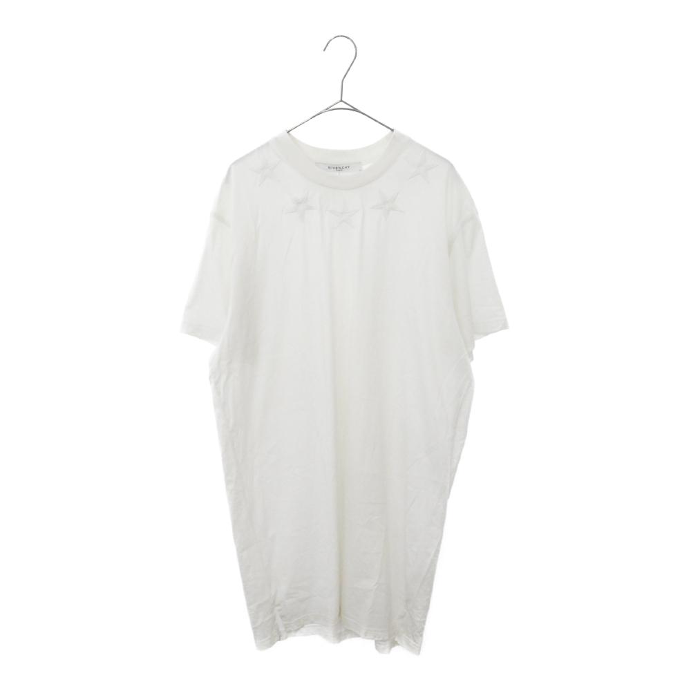 スター刺繍半袖Tシャツ