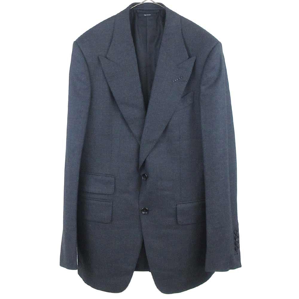 411R51 11SL40 007ボンドモデル シルクウールセットアップスーツ テーラードジャケット スラックスパンツ