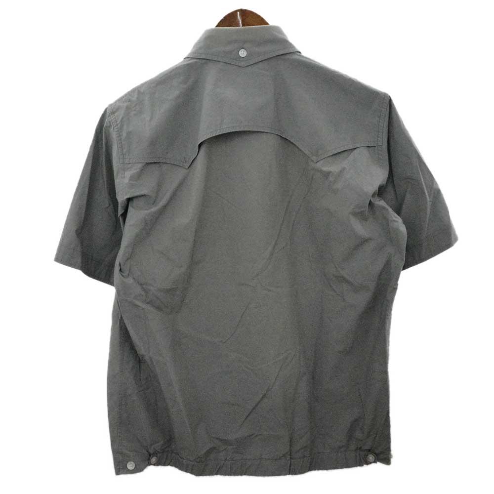 ウエスタンヨーク半袖コットンシャツ