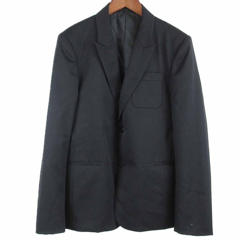 ウール混2Bセットアップスーツ ベント無