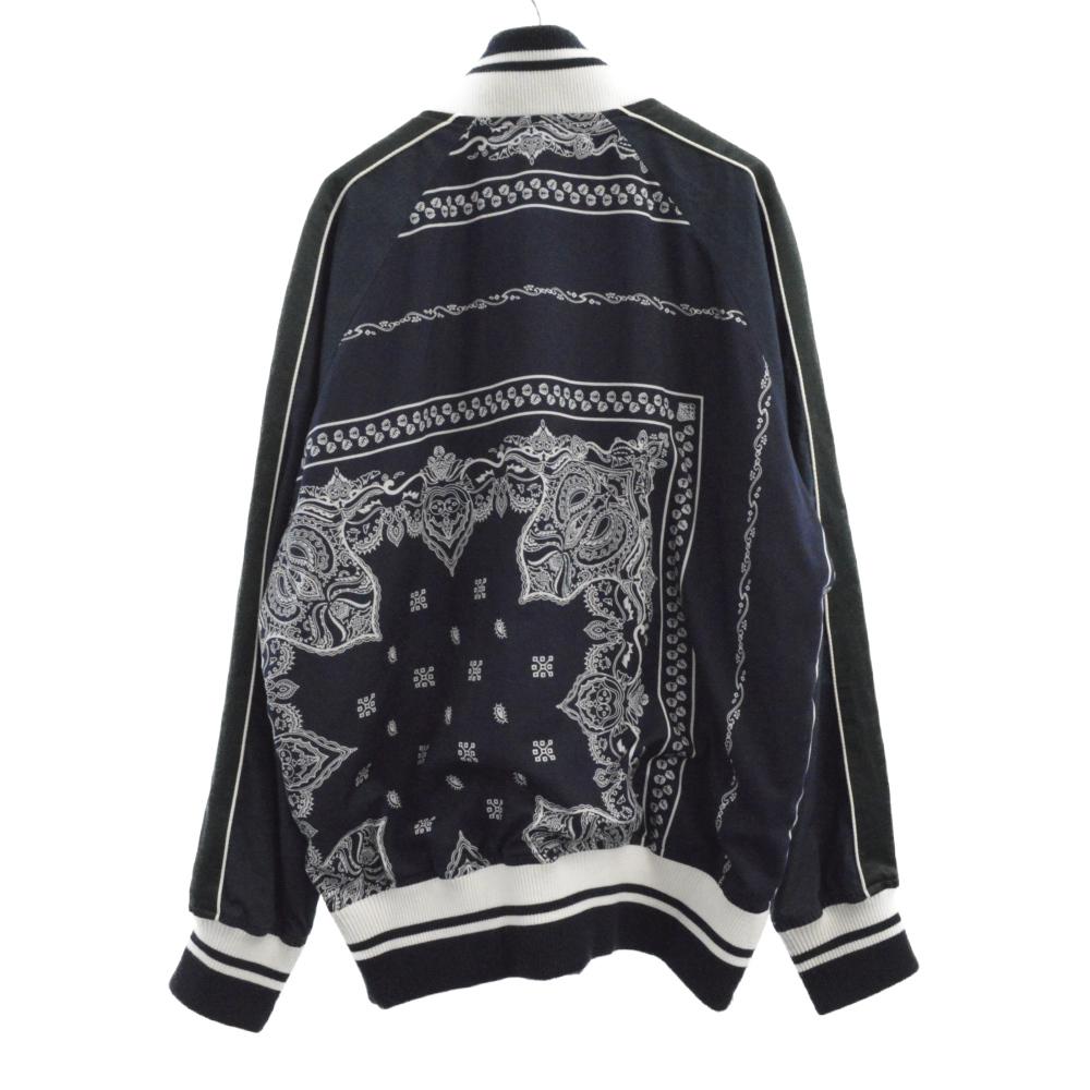 Bandana Print Jacket バンダナプリントジャケット