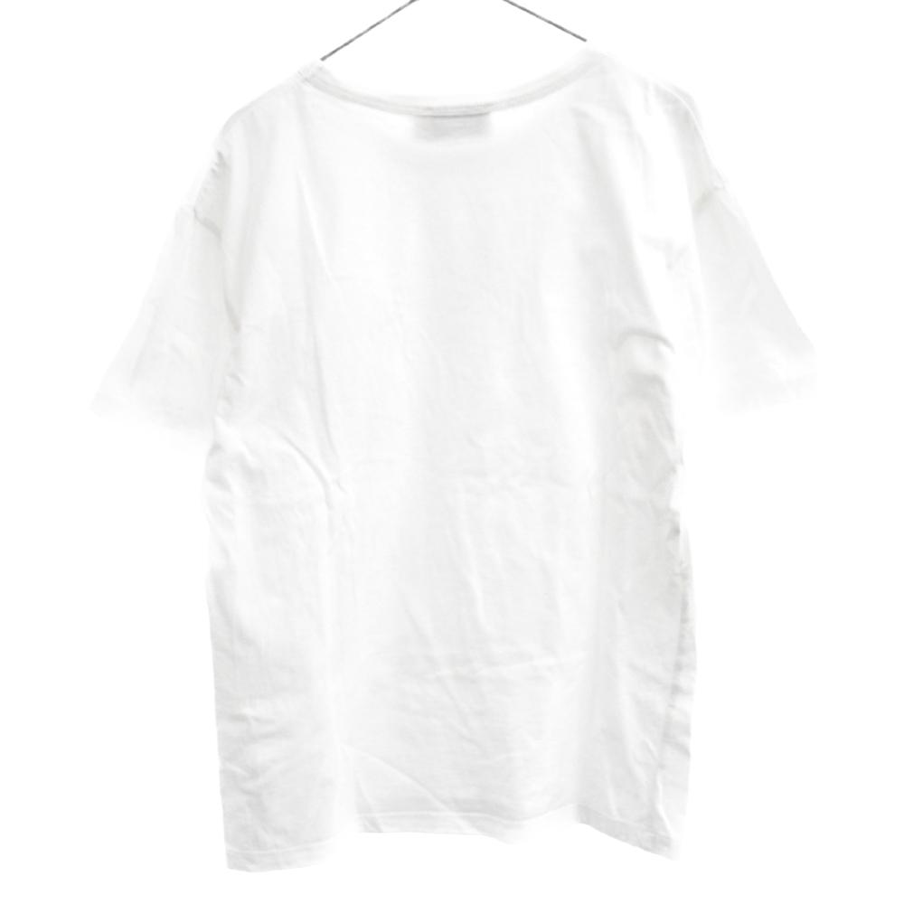 胸ポケット トリコロールロゴ刺繍 半袖Tシャツ