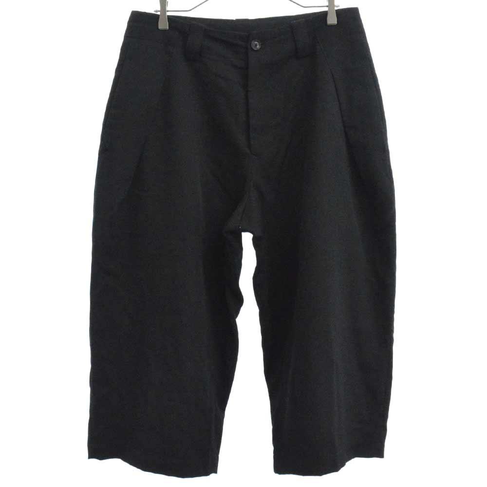 LOOK24 Gabardine Side Tuck Pants ルック24着用ウールギャバジンワイドクロップドパンツ HW-P96-100