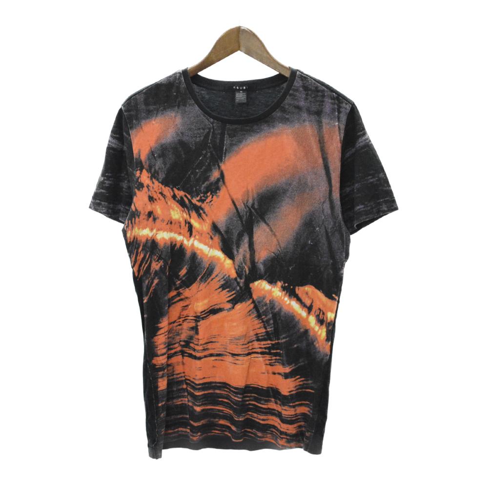 グラフィックプリント半袖Tシャツ