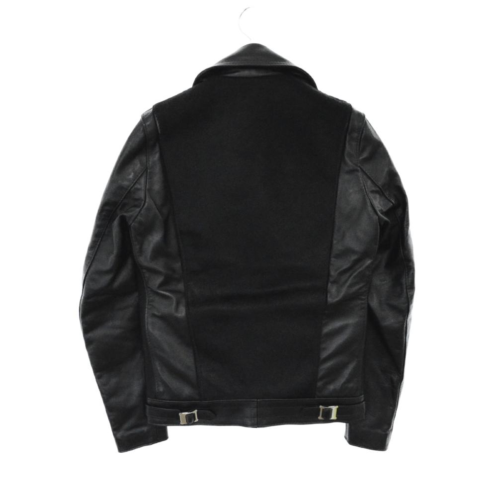 ×COMME des GARCONS ライダースジャケット 青山店限定ハラコ AD2016