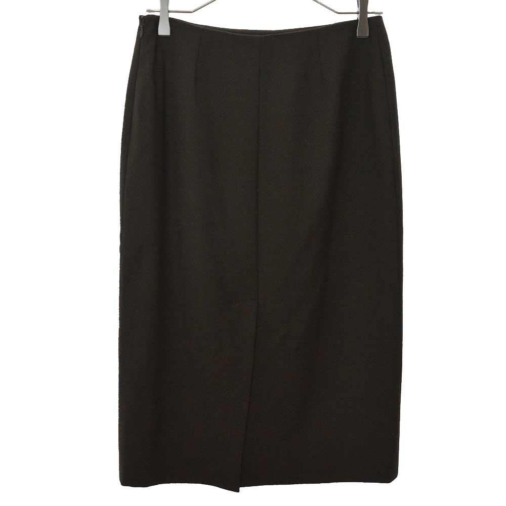 ウールスカート スーツ 36