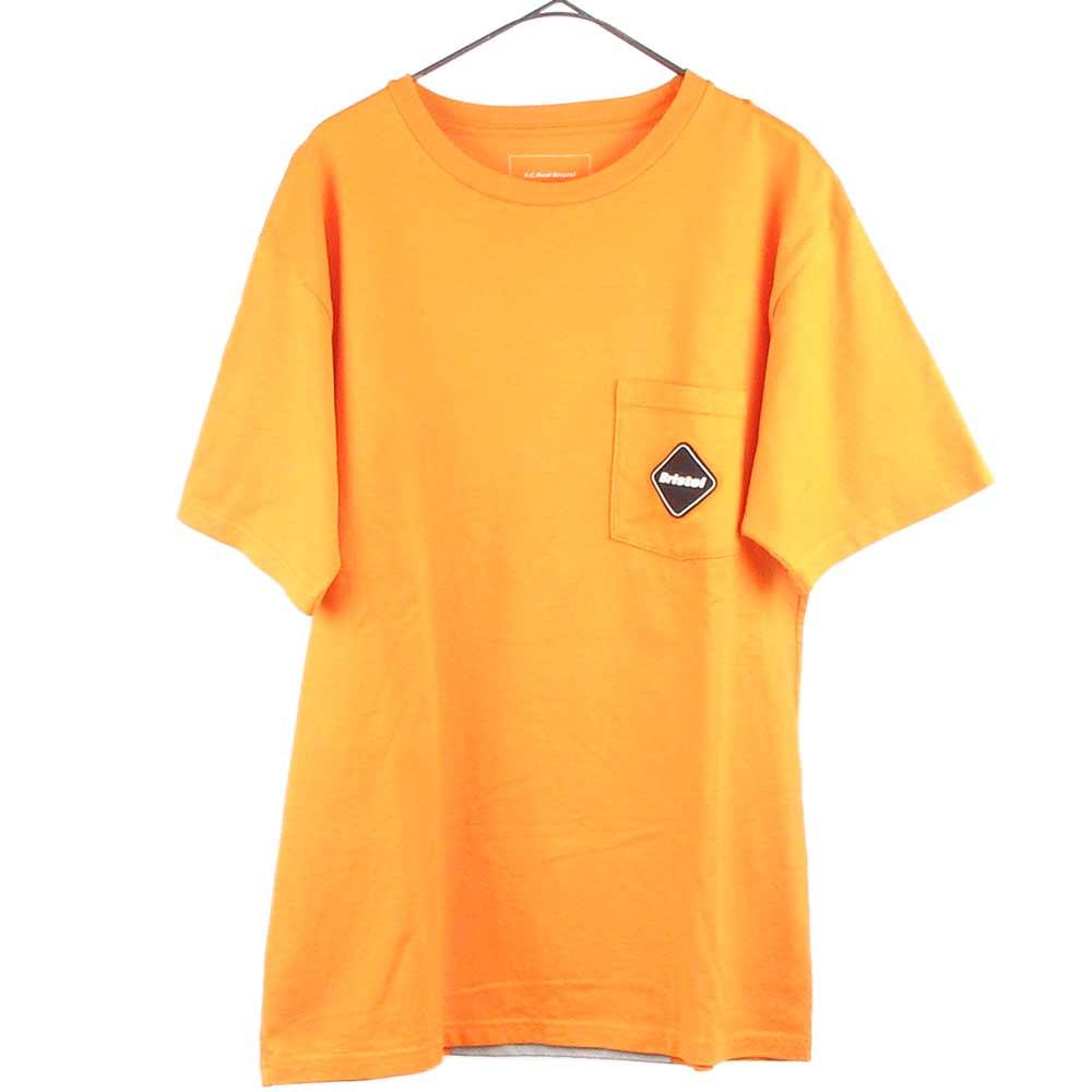 Refrect BIG LOGO POCKET TEE バックビッグロゴプリント半袖Tシャツ