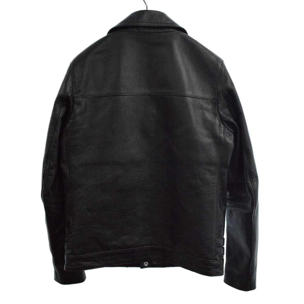 BASIC カウレザーダブルライダースジャケット