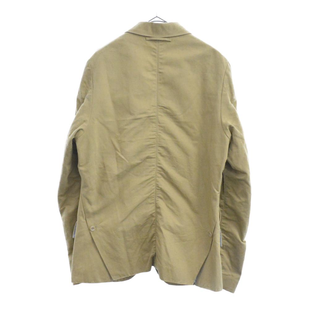 リネンコットンカルゼパッカリングジャケット