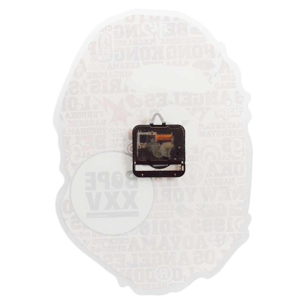 XXV APE HEAD WALL CLOCK 25周年記念壁掛け時計