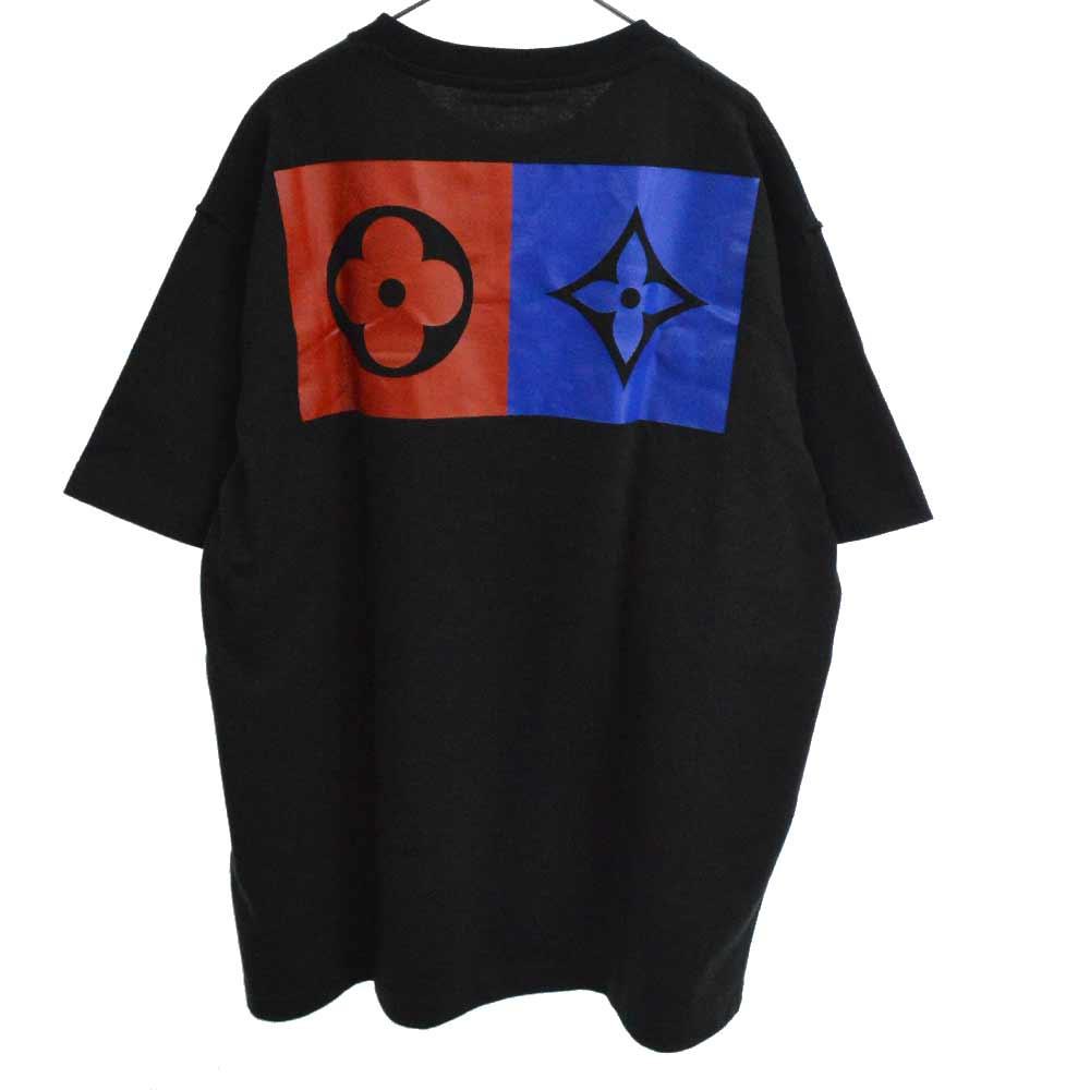ジャイアントモノグラムバックプリント半袖Tシャツ