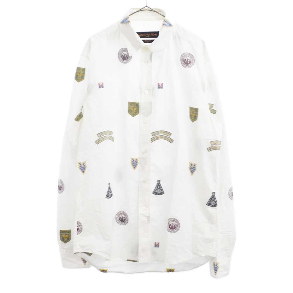 ナショナルパークパッチプリント 長袖シャツ