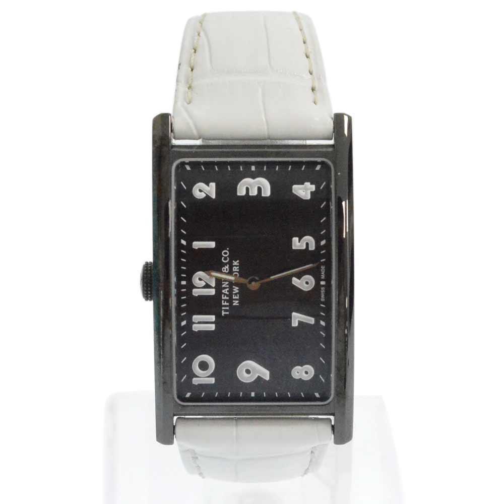 イーストウエスト 日本限定カラークオーツ式腕時計/ホワイト 革ベルト/ギャランティ有り