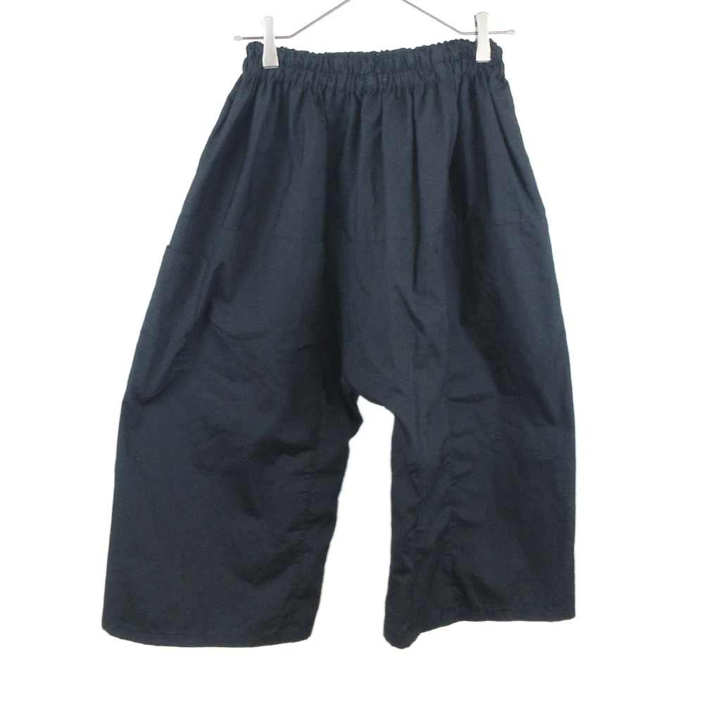Short pants with elastic サルエル ワイドパンツ