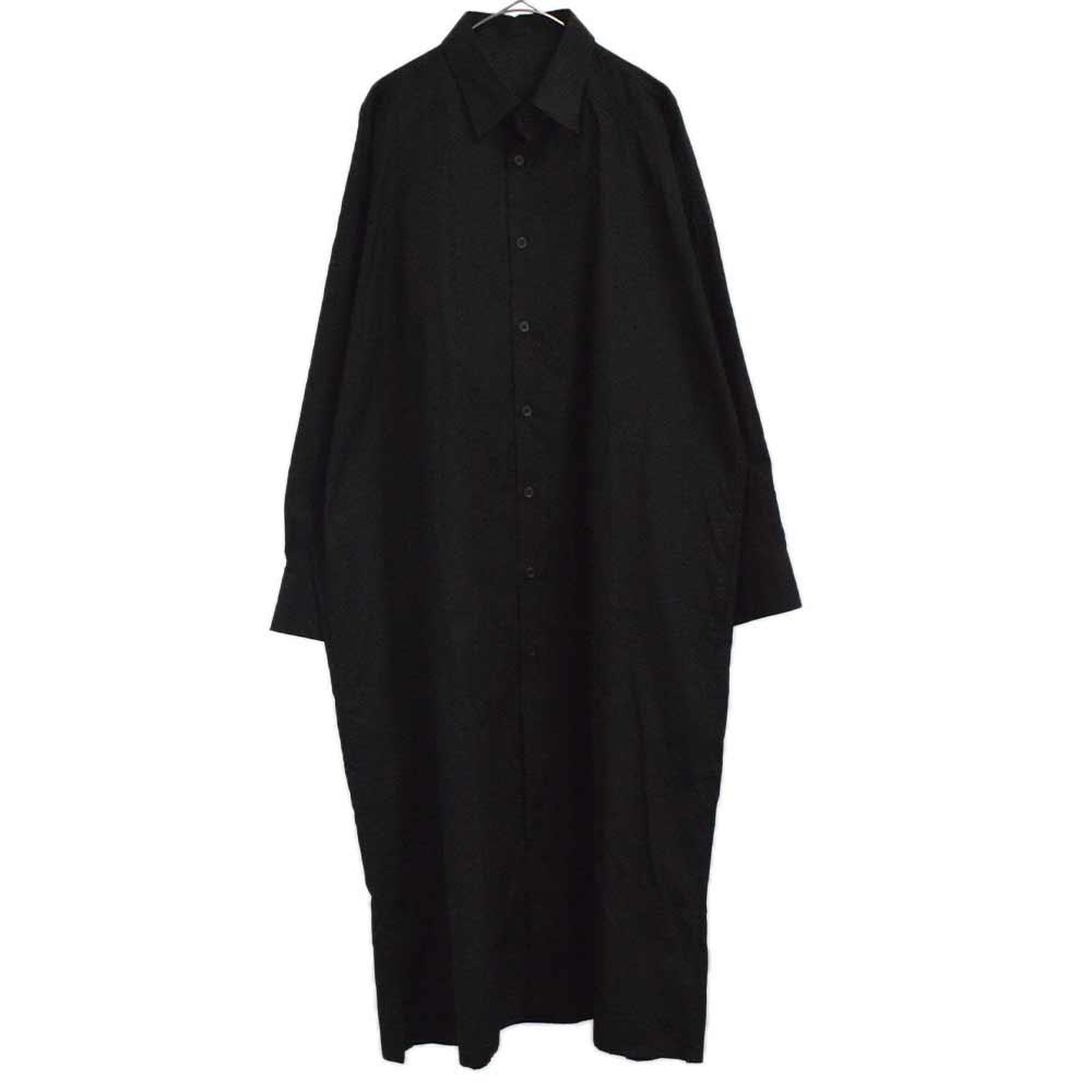 BLACK Scandal バックペイントプリントロング丈スタッフシャツ ブラウス