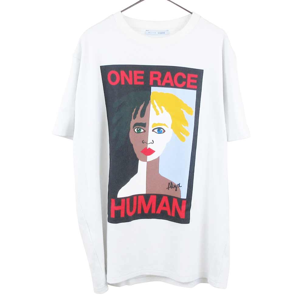 × VISUAL ヴィジュアル ワン フェイス フォトプリント 半袖Tシャツ
