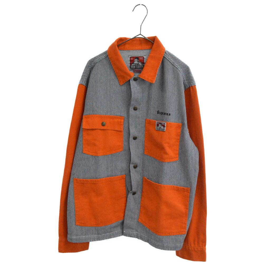 ×Ben Davis Chore Coat カバーオール ジャケット ヒッコリー