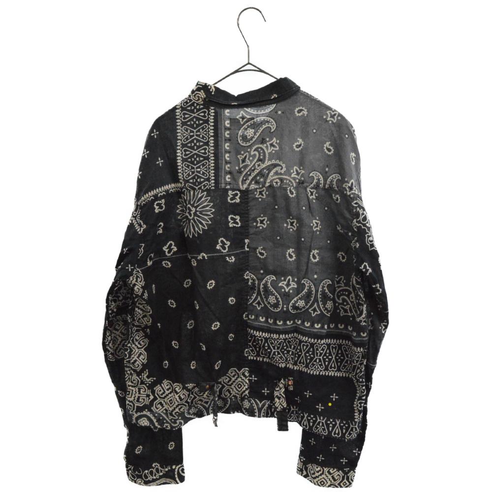 Bandana Patchwork 1st Jacket バンダナパッチワークジャケット