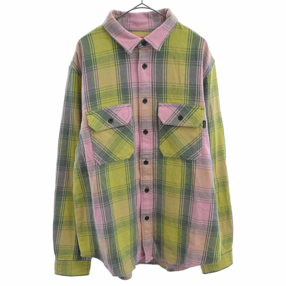 Heavyweight Flannel Shirt シュプリーム ヘビーウェイト 長袖フランネルチェックシャツ