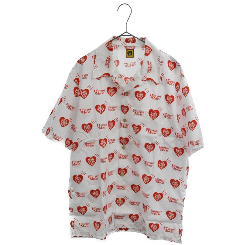 ×Girls Don't Cry ALOHA SHIRT 京都店オープン記念限定半袖アロハシャツ