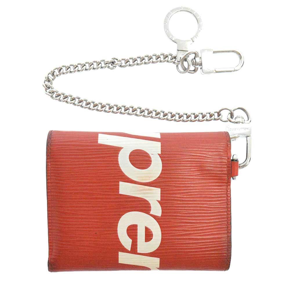 ×Louis Vuitton Chain Wallet チェーン三つ折り財布