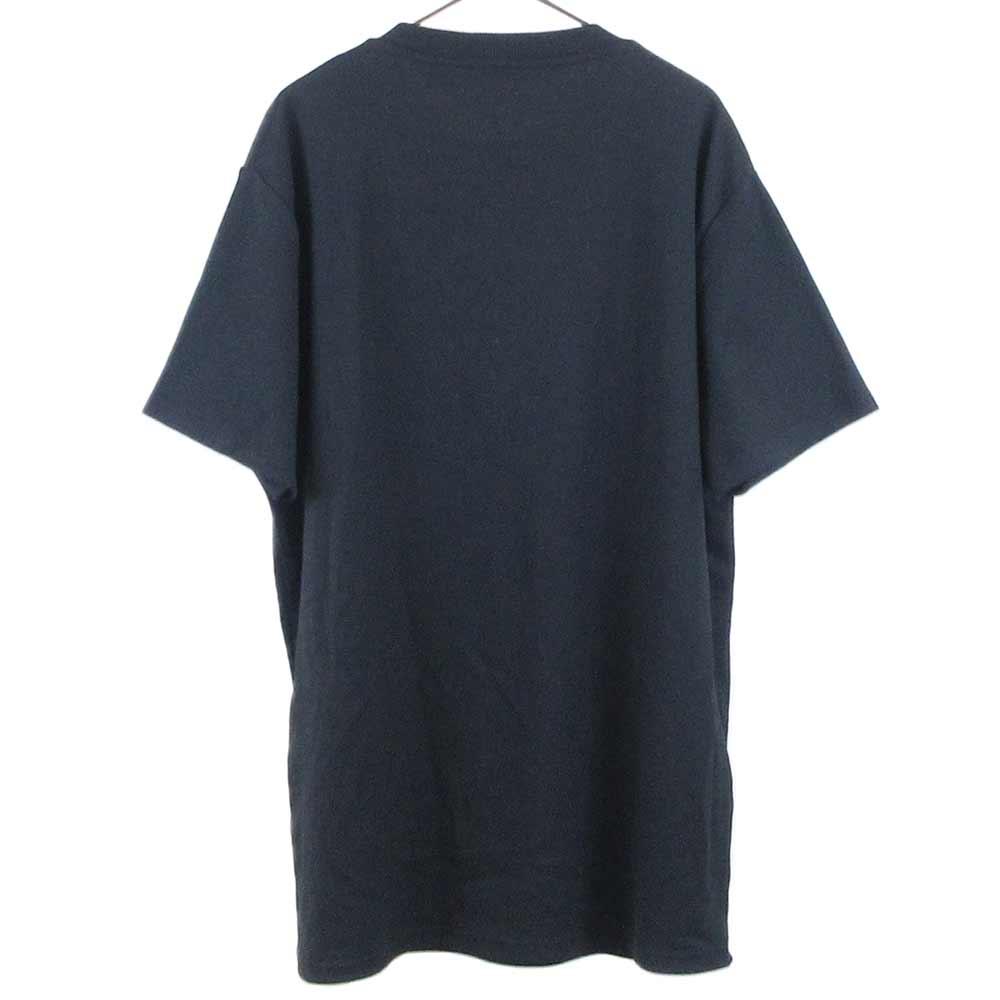 × VISUAL ヴィジュアル フロント ロゴプリント 半袖Tシャツ