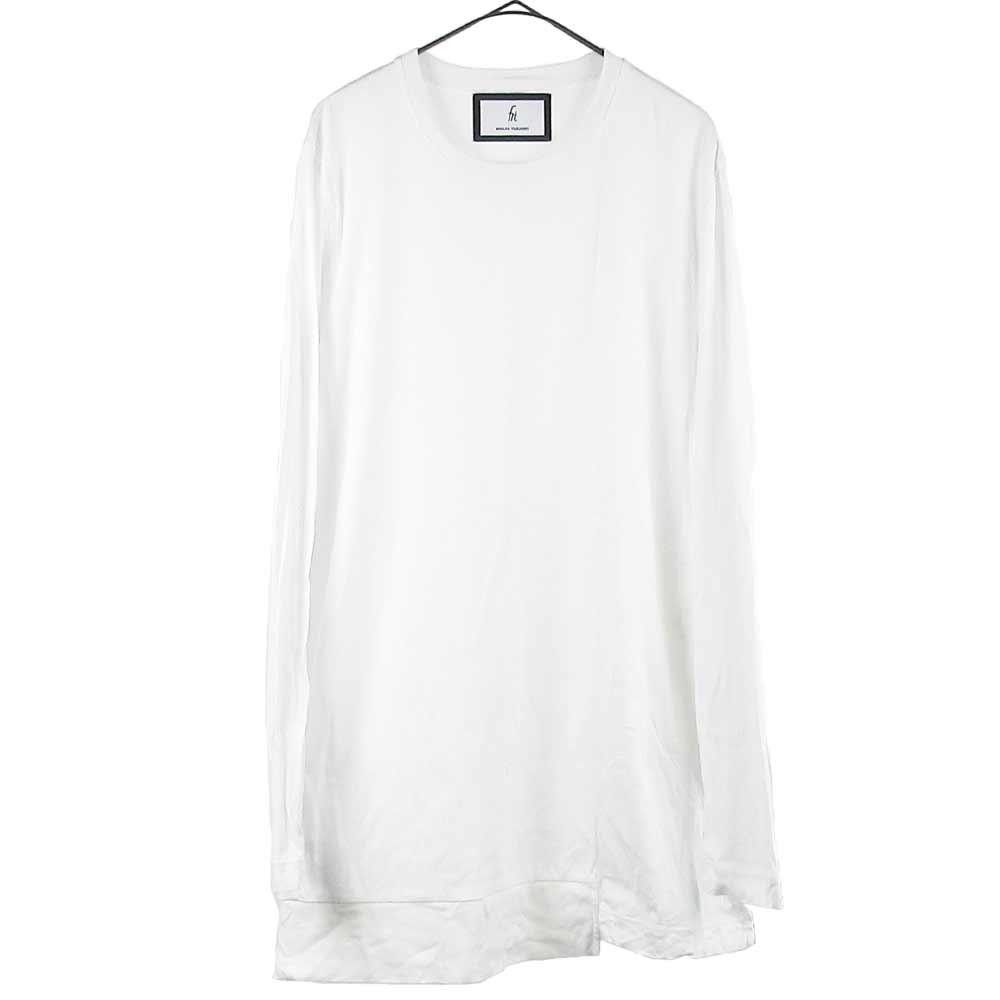 サイドスリット オーバーサイズ ポケット 半袖 Tシャツ