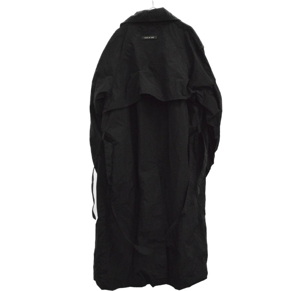 SIX COLLECTION Nyron Rain Jacket ウエストベルトナイロンコート ジャケット